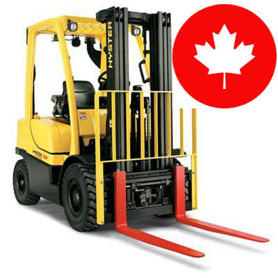 How to get forklift training in Canada