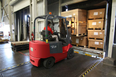OSHA regulations and requirements for forklift backup alarm