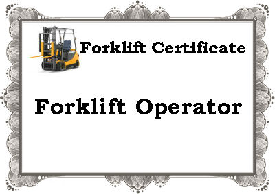 Will One Certificate Cover an Operator for All Trucks