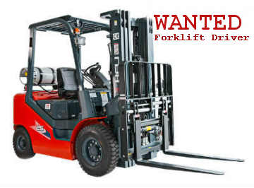 Forklift Drivers Wanted