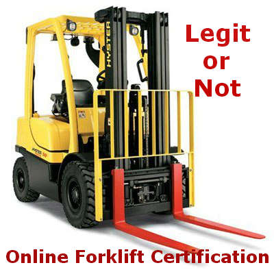 Is Online Forklift Certification Legit? Here\'s My Answer - Be ...