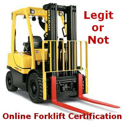 Forklift Certification Nj